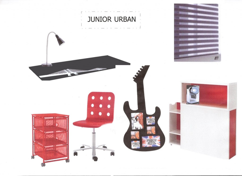 planche urban junior chambre