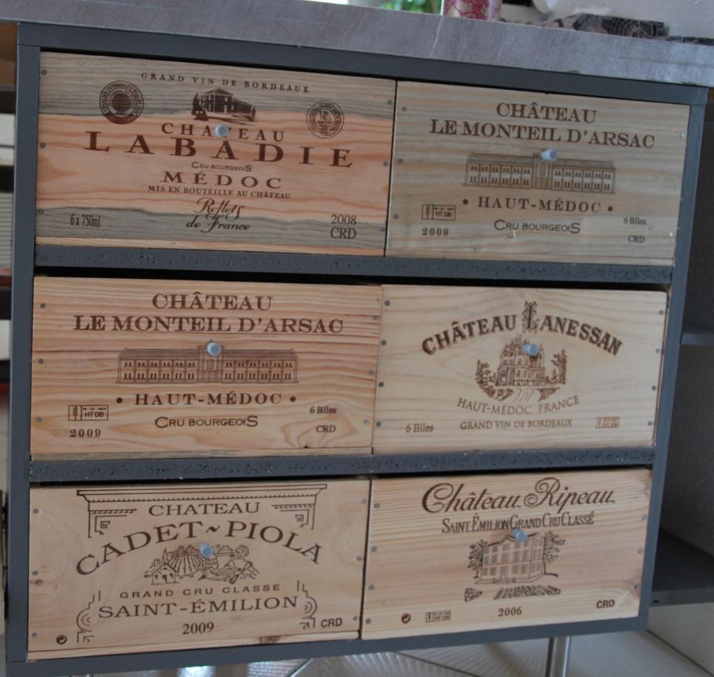 Idées déco avec des caisses à vin ? – Fdeco-agencement