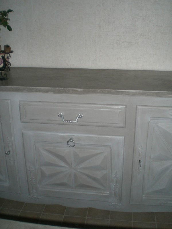 Fdeco agencement buffet basque caract re b ton - Relooking chambre adulte ...