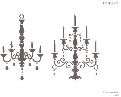 Chandelier grand style !