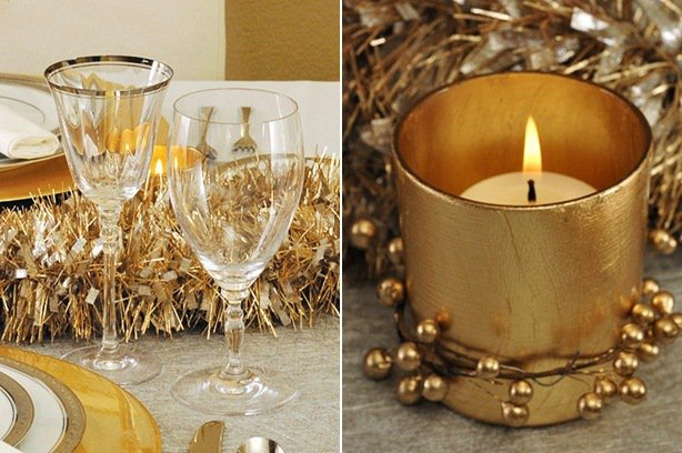 deco-table-noel-22-idees-bougie-doree-verre-lisere-or