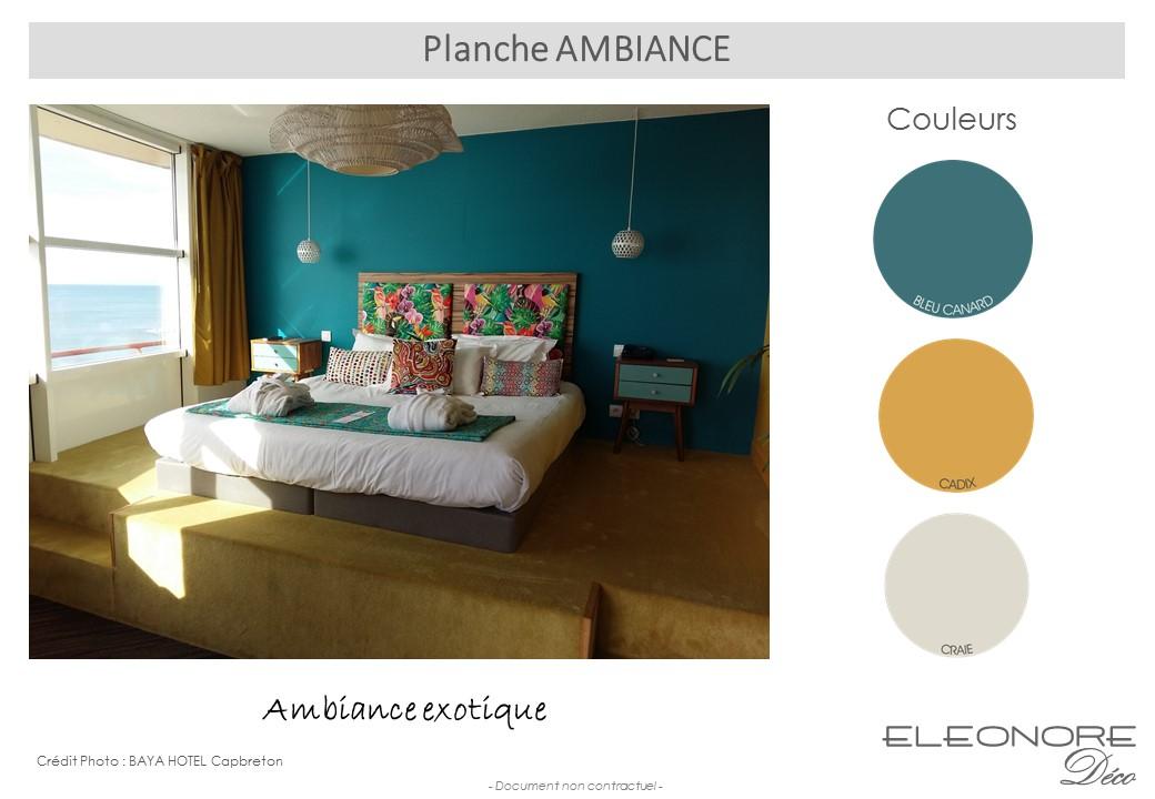 planche-ambiance-bleu-canard-jaune-cadix-baya-hotel